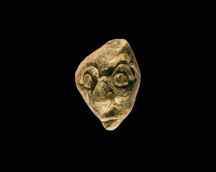 Natural History - Javanese Mastodon Bone Carving