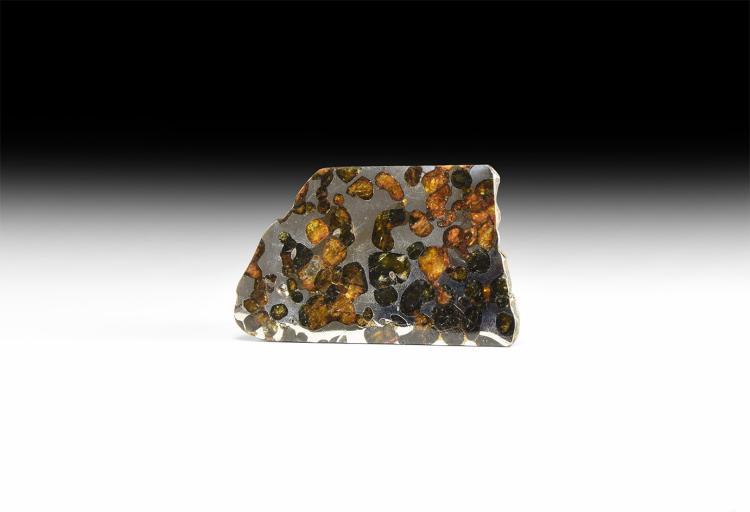 Habaswein Cut and Polished Meteorite Slice