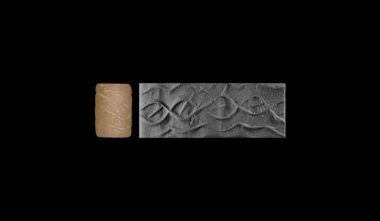 Mesopotamian Patterned Cylinder Seal