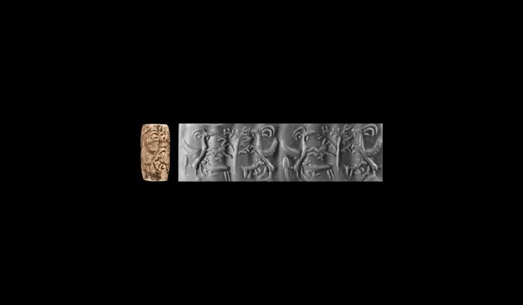 Western Asiatic Babylonian Cylinder Seal