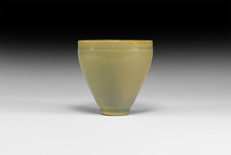 Chinese Song Green Glazed Cup
