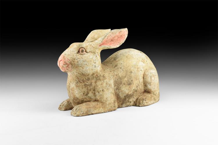 Chinese Tang Terracotta Rabbit