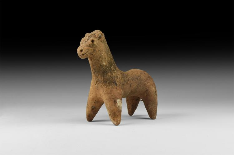 Indus Valley Pottery Horse