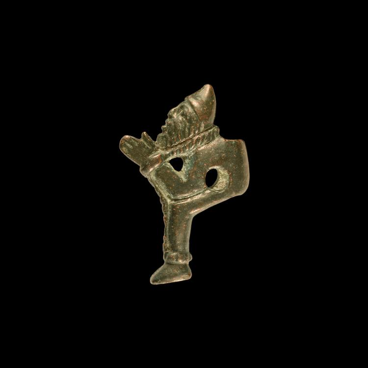 Romano-Celtic Bearded Captive Toggle