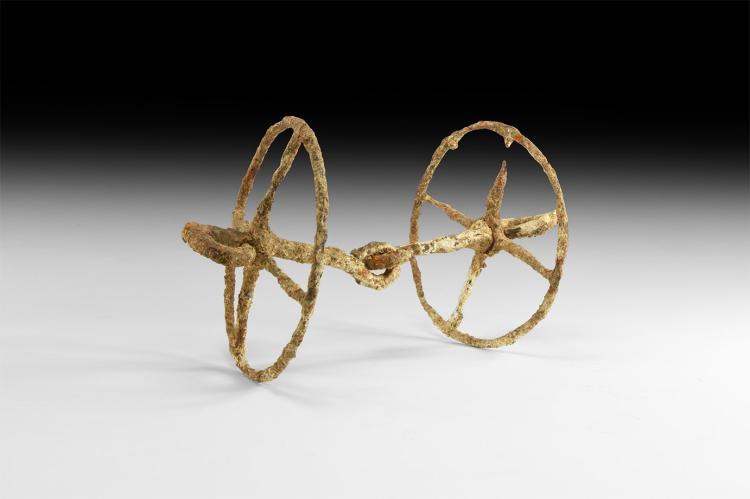 Iron Age Celtic Horse Bit