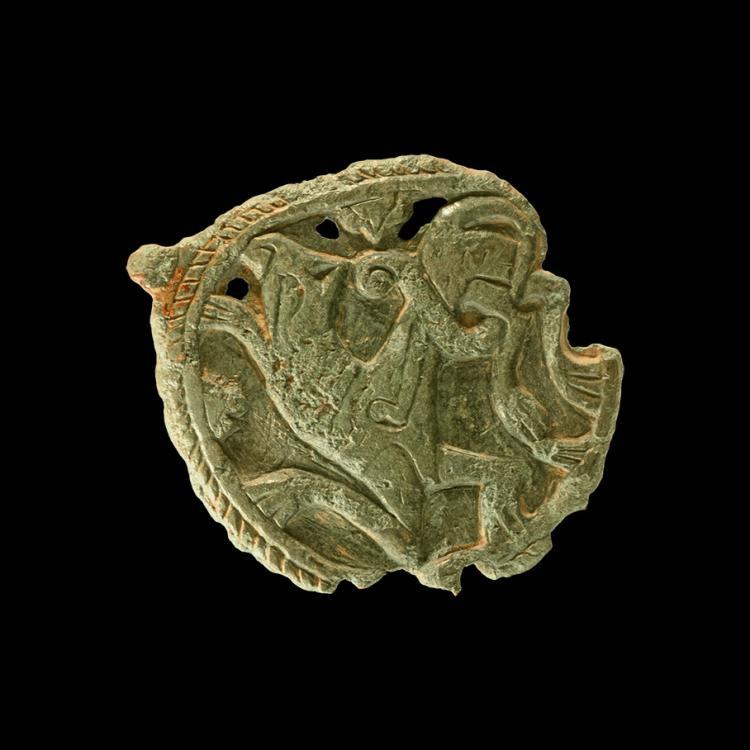 Viking Beast Horse Harness Pendant