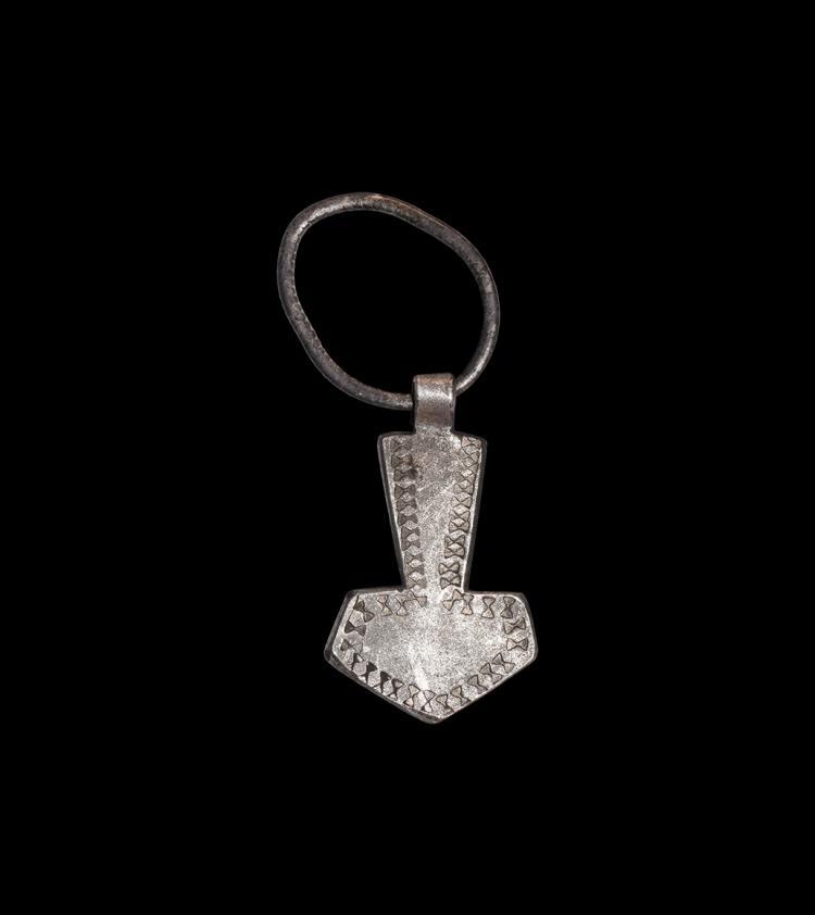 Viking Silver Thor's Hammer Pendant