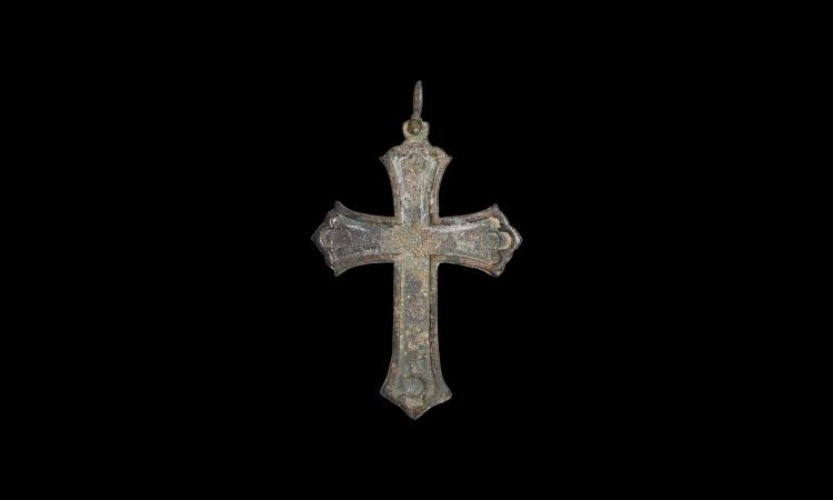 Byzantine Large Cross Pendant
