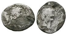 Mark Antony/Cleopatra - Portrait Plated Denarius