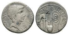 Octavian - Emblems Denarius