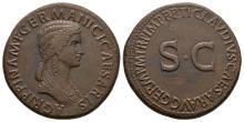 Agrippina (under Claudius) - SC Sestertius
