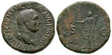 Vitellius - Pax Sestertius