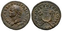 Vespasian - Cornucopiae Dupondius