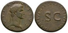 Augustus (under Nerva) - SC Sestertius