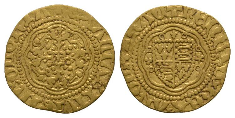 Henry V - Gold Quarter Noble