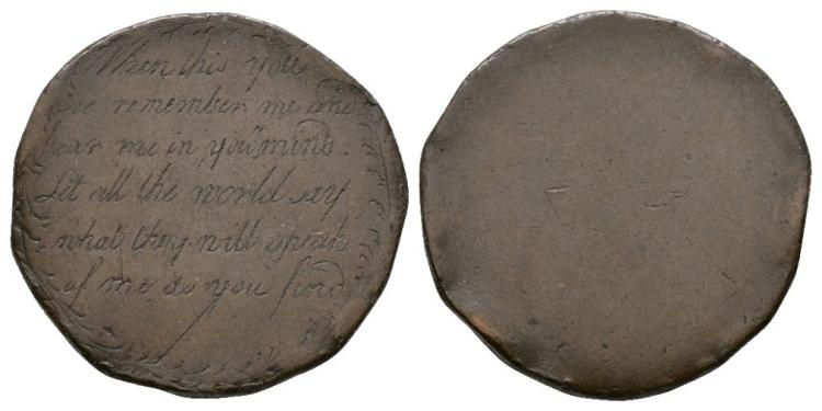 'When This You See Remember..' Convict Token