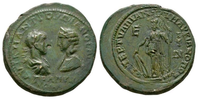 Gordian III/Tranquillina - Markianopolis - Bronze