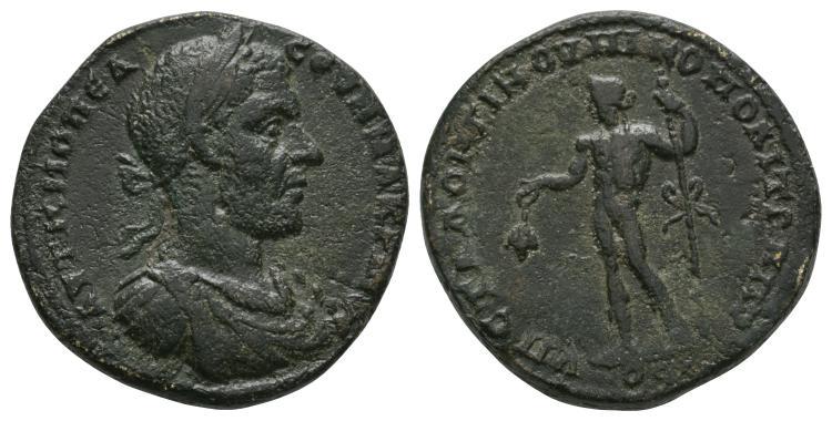 Macrinus - Moesia Inferior - Dionysos Bronze