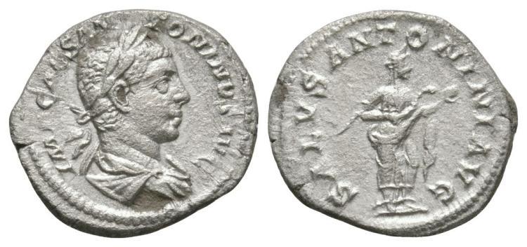 Elagabalus - Salus Denarius