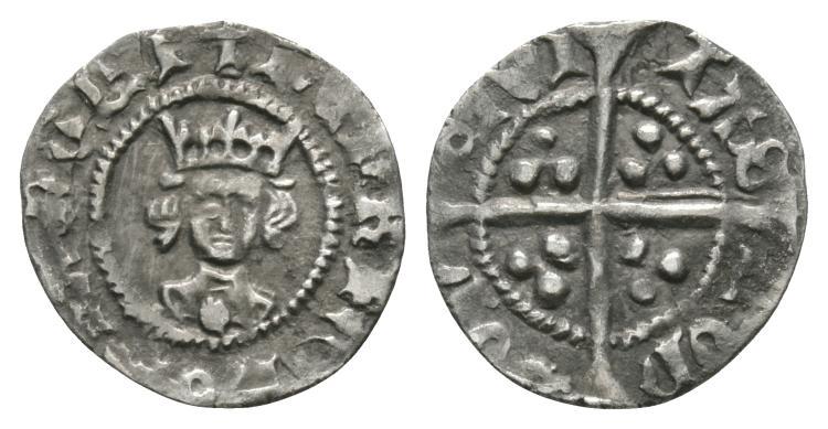 Henry VI - London - Leaf-Trefoil Halfpenny