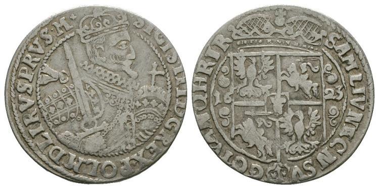 Poland - Sigismund III - 1623 - 1/4 Thaler
