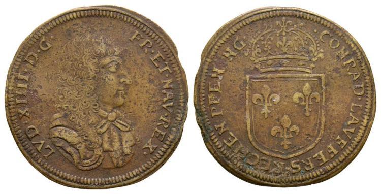 Germany - Nuremburg - Louis XIV - Jeton