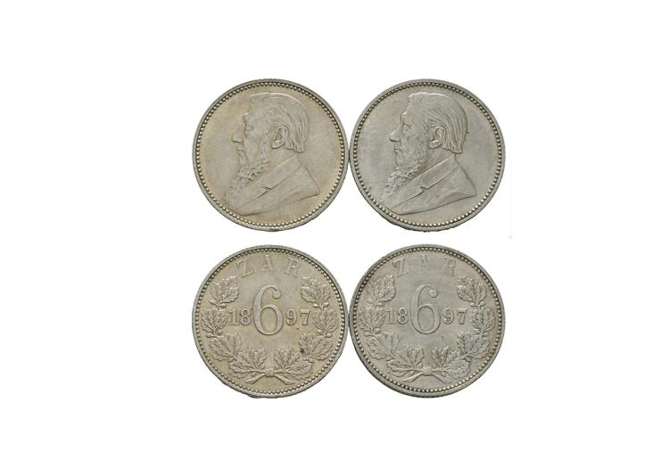 South Africa - Republic - 1897 - Sixpences [2]