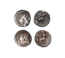 Ancient Greek Coins - Macedonia - Alexander III (the Great) Drachm Group [2]