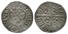 English Medieval Coins - Edward I - Newcastle - Long Cross Penny
