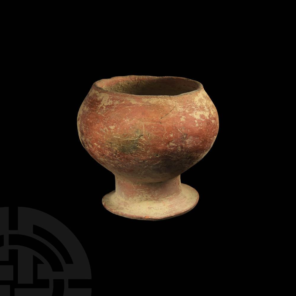 Etruscan Ceramic Chalice