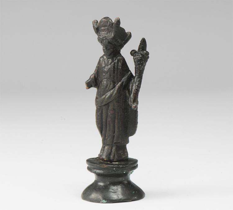Roman Fortuna Statuette