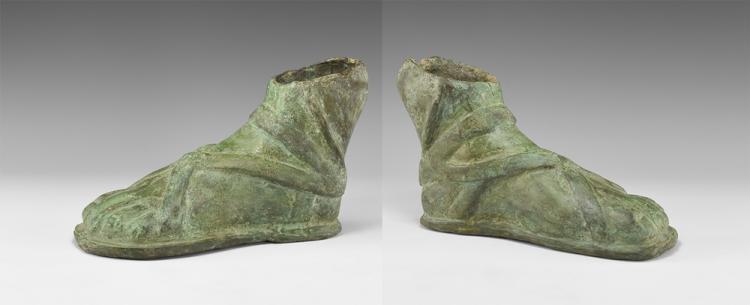 Roman Statue Foot