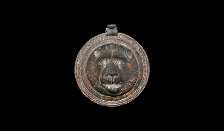 Roman Lion Head Phalera