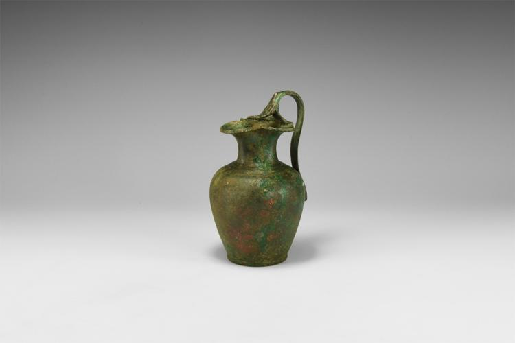 Roman Jug with Trefoil Mouth