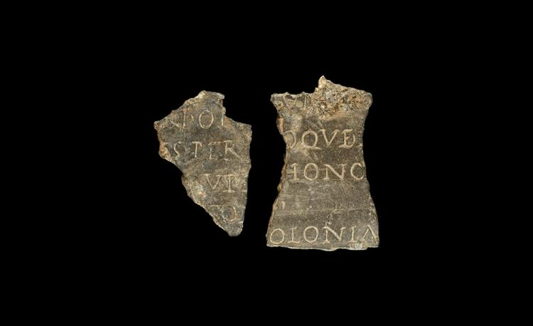 Roman Inscribed Plaque Group