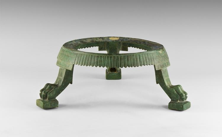 Roman Decorated Tripod Vessel Stand