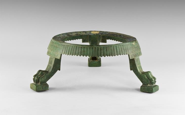 Roman Decorated Tripod Vessel Stand