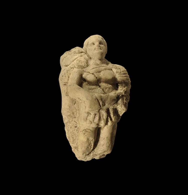 Roman Gladiator Figure Fragment