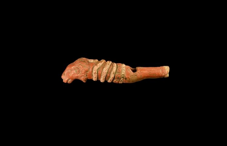 Roman Lion Headed Whistle