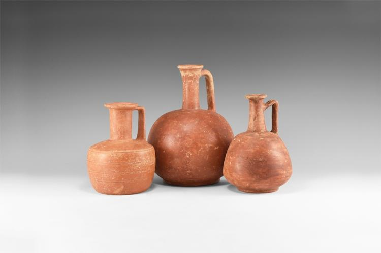 Roman Redware Jug Group