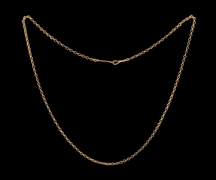 Roman Gold Chain Necklace