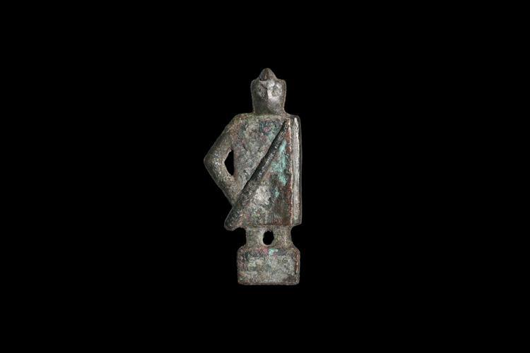 Roman Gladiator Brooch