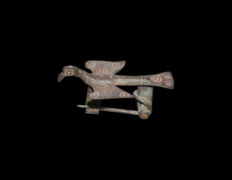 Roman Bird Brooch