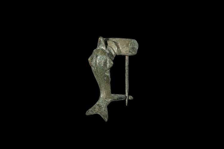 Roman Dolphin Brooch