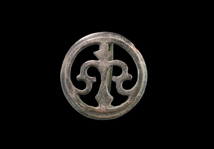 Roman Openwork Disc Brooch