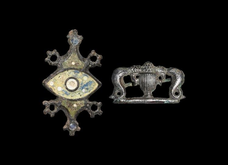 Roman Plate Brooch Group