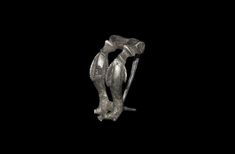 Roman Double Dolphin Fibula