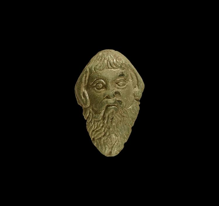 Roman Head of Silenus Mount