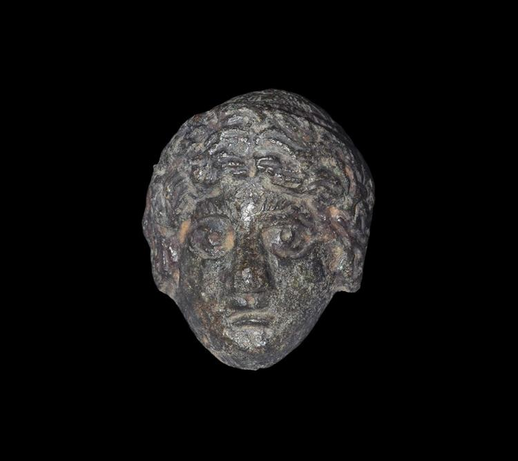 Roman Head of Apollo Mount