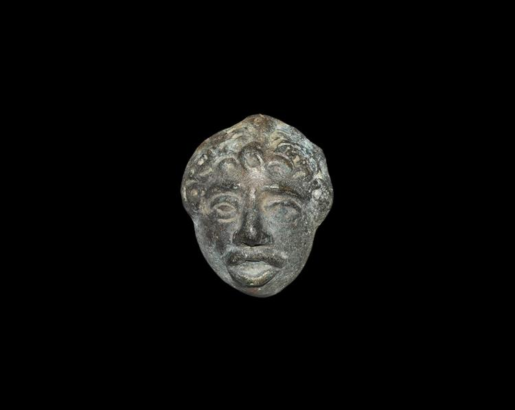 Roman Male Face Mount